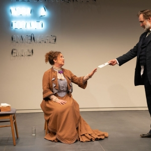 A Doll's House, Part 2 production at Hudson Stage Company - Denise Bessette, Kurt Rhoads