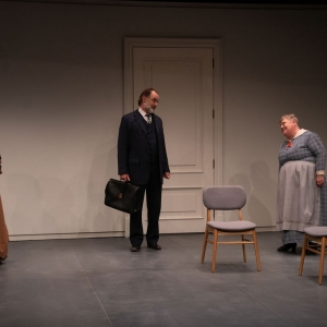 A Doll's House, Part 2 production at Hudson Stage Company - Denise Bessette, Kurt Rhoads and Mary Stout