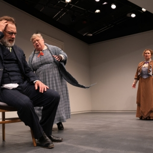 A Doll's House, Part 2 production at Hudson Stage Company - Denise Bessette, Rachel Kent, Kurt Rhoads and Mary Stout